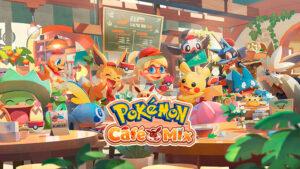 app de Pokemon Cafe Mix