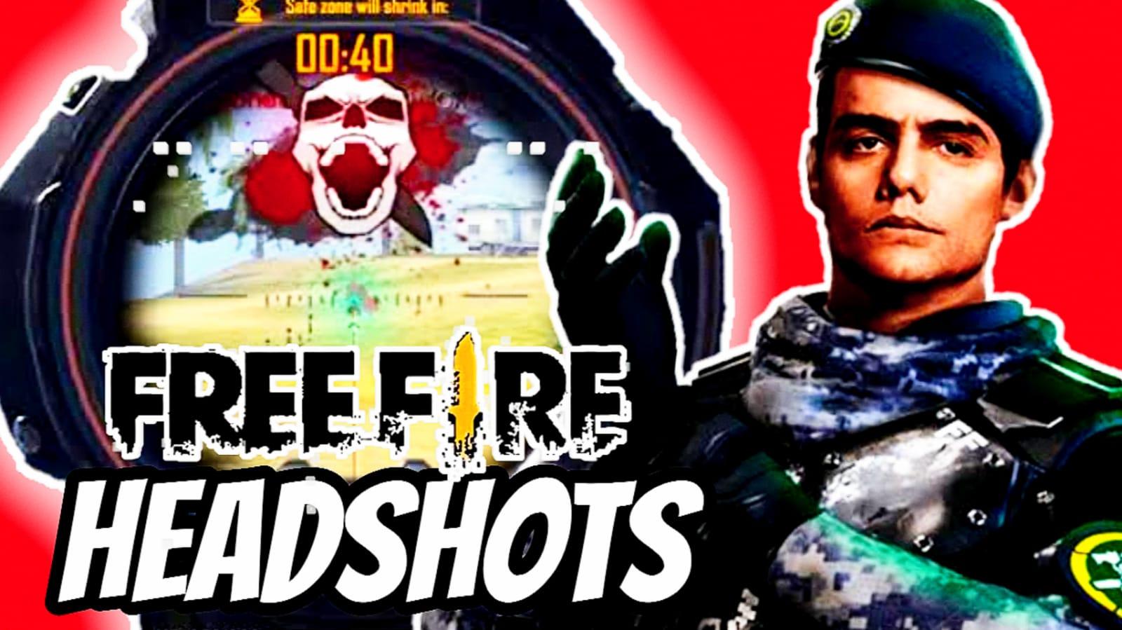 Como subir la mira para dar headshot en free fire con preciso