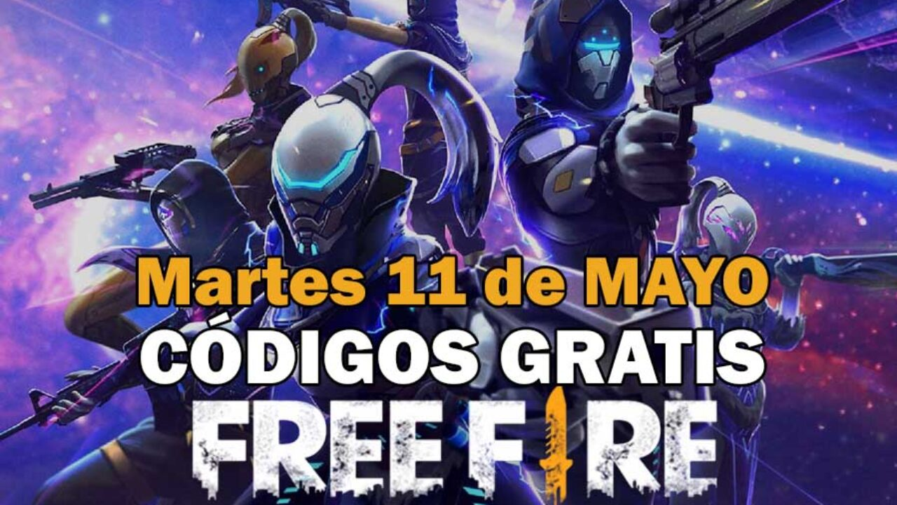 Códigos Free Fire de hoy 11 de mayo de 2021