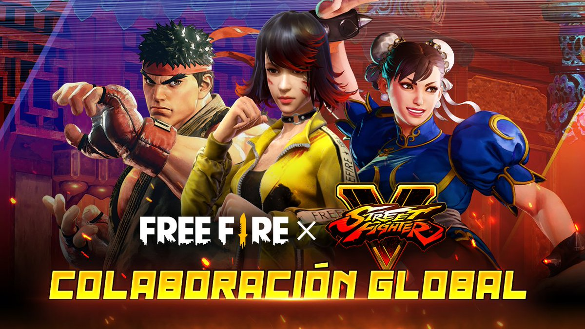 Oficial! Nueva Luck Royal de Oro con Skin de Street Fighter en Free Fire